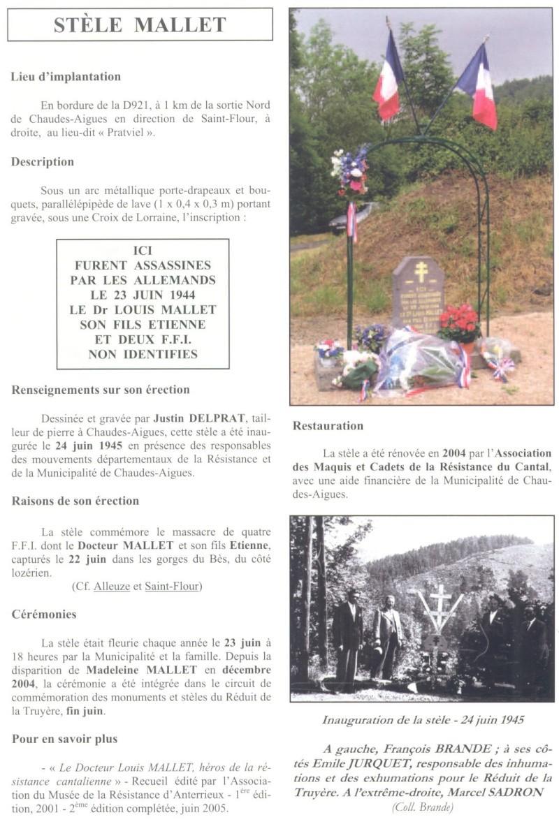Le MONT-MOUCHET, haut lieu de la Résistance - Page 2 Reduit37