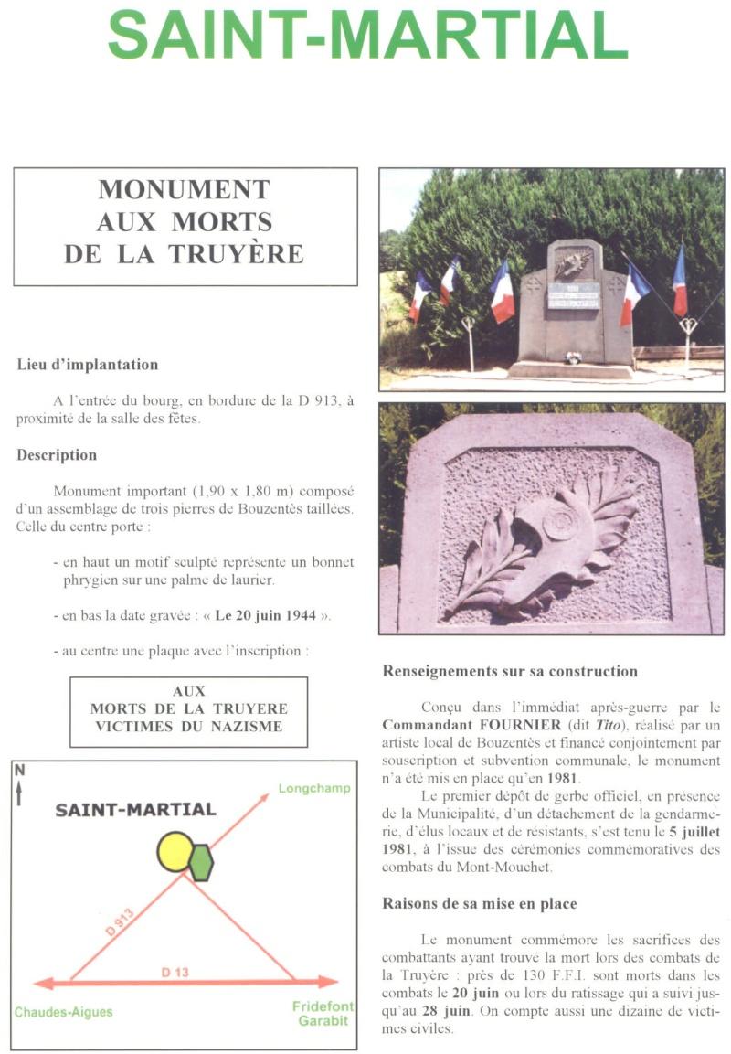 Le MONT-MOUCHET, haut lieu de la Résistance - Page 2 Sm110