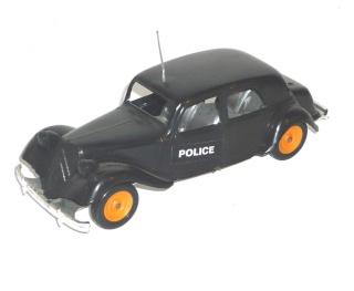 Citroën et la Police Cla10
