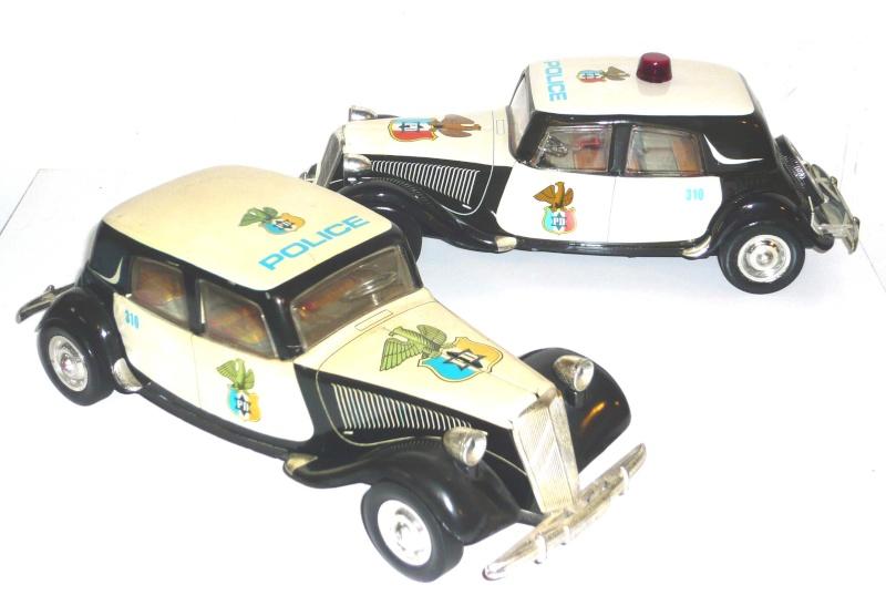 Citroën et la Police Roman10