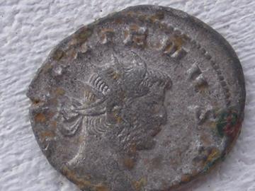 antoninien de Gallien apollon et sa lyre Dscf2510