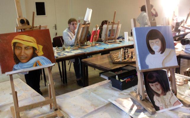 Ateliers 2012-2013 .... travail en cours .... Gennes10