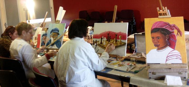 Ateliers 2012-2013 .... travail en cours .... Gennes12
