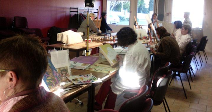 Ateliers 2012-2013 .... travail en cours .... Gennes19