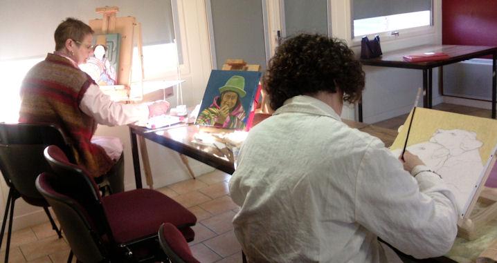 Ateliers 2012-2013 .... travail en cours .... Gennes20