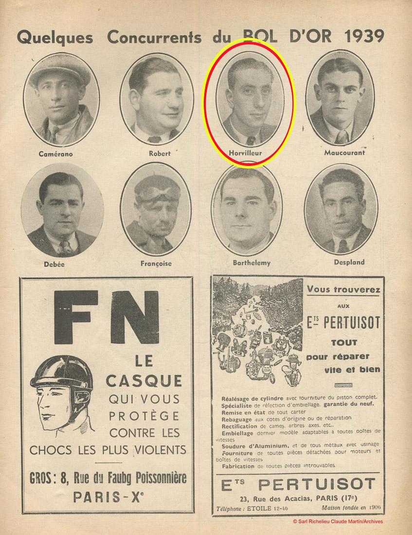 Casque cuir - pilote années 1930 1939-110