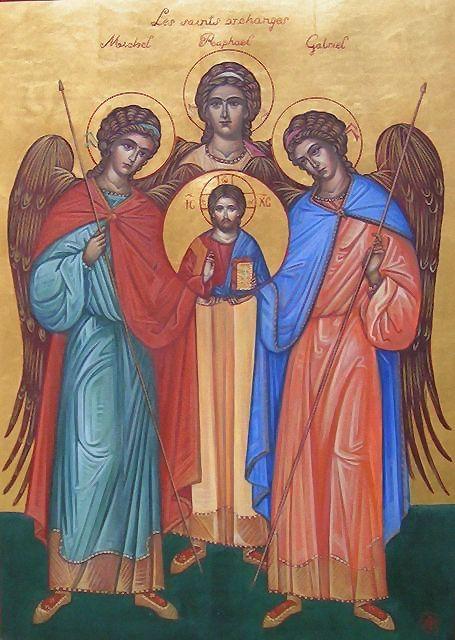 24 OCTOBRE FETE DE L'ARCHANGE RAPHAEL/ Sept jours pour préparer la fête de l'archange ou pour demander une grâce particulière Les_sa10