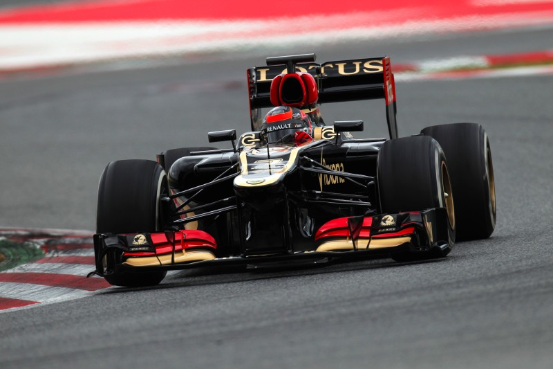 Test F.1 a Barcellona  Lotus_12