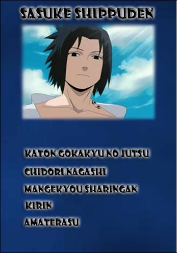 Mirar una hoja de personaje Sasuke12