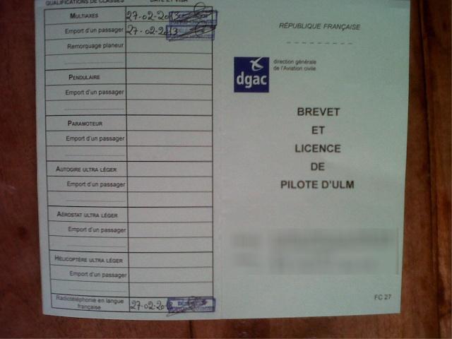 J'ai mon brevet ULM Ulm210