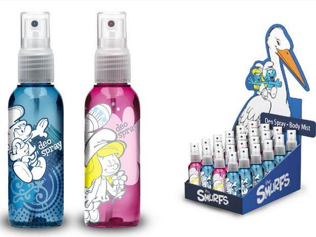 [adimex] cosmétique et produits pour le bain schtroumpfs (Belgique) Adimex10
