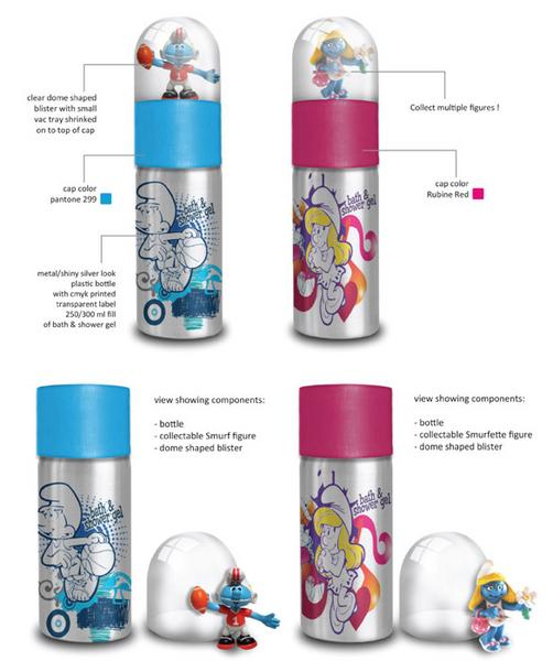 [adimex] cosmétique et produits pour le bain schtroumpfs (Belgique) Gamme_15