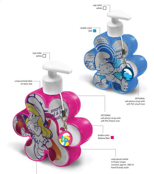 [adimex] cosmétique et produits pour le bain schtroumpfs (Belgique) Gamme_16
