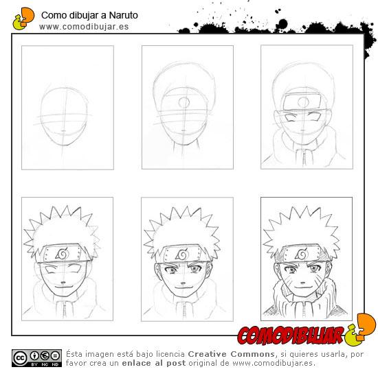 Como Dibujar a Naruto,Sasuke,Sakura y Gaara 13228410