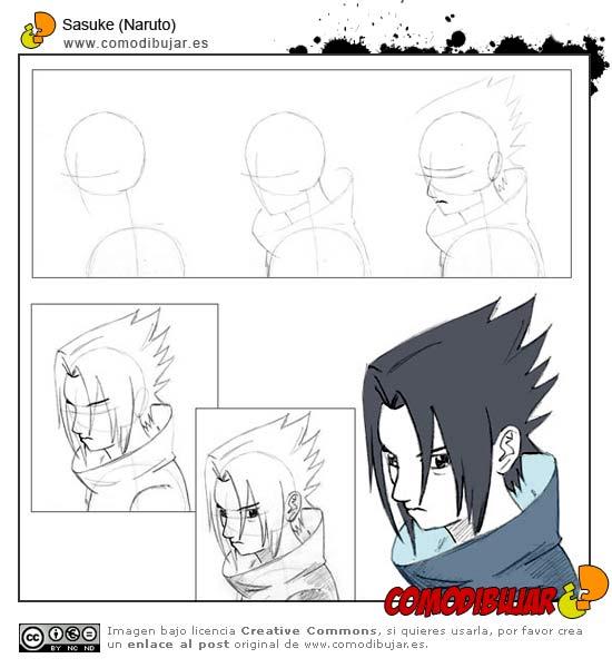 Como Dibujar a Naruto,Sasuke,Sakura y Gaara 22744010