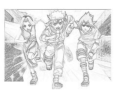 Como Dibujar a Naruto,Sasuke,Sakura y Gaara 25275410
