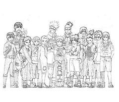 Como Dibujar a Naruto,Sasuke,Sakura y Gaara 25283610