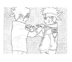 Como Dibujar a Naruto,Sasuke,Sakura y Gaara 25283611