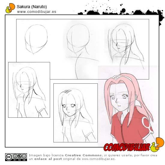 Como Dibujar A Narutosasukesakura Y Gaara