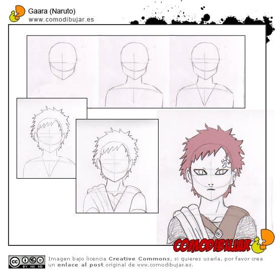 Como Dibujar a Naruto,Sasuke,Sakura y Gaara 25649110