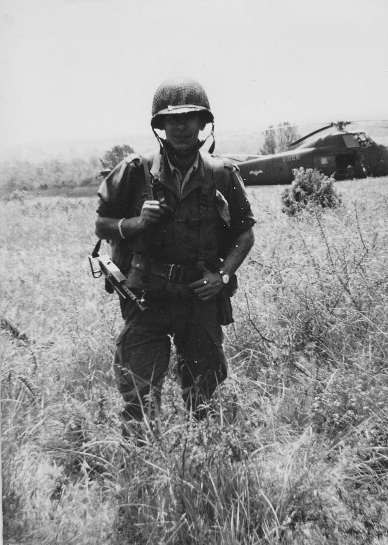 L'escadron et la section d'Eclairage et Reconnaissance du 1er RCP Caylus11