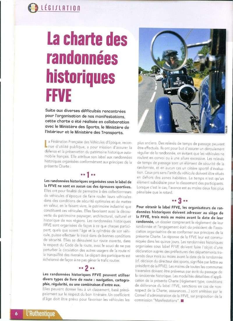 CHARTE DES RANDONNEES HISTORIQUES FFVE  Charte10