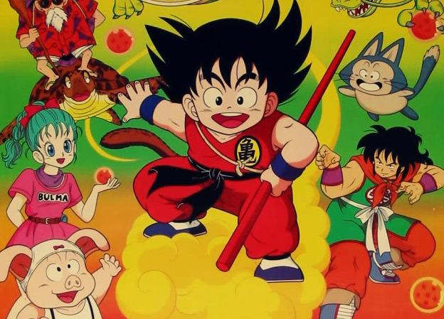 Calendarios históricos de Dragon Ball 1a10
