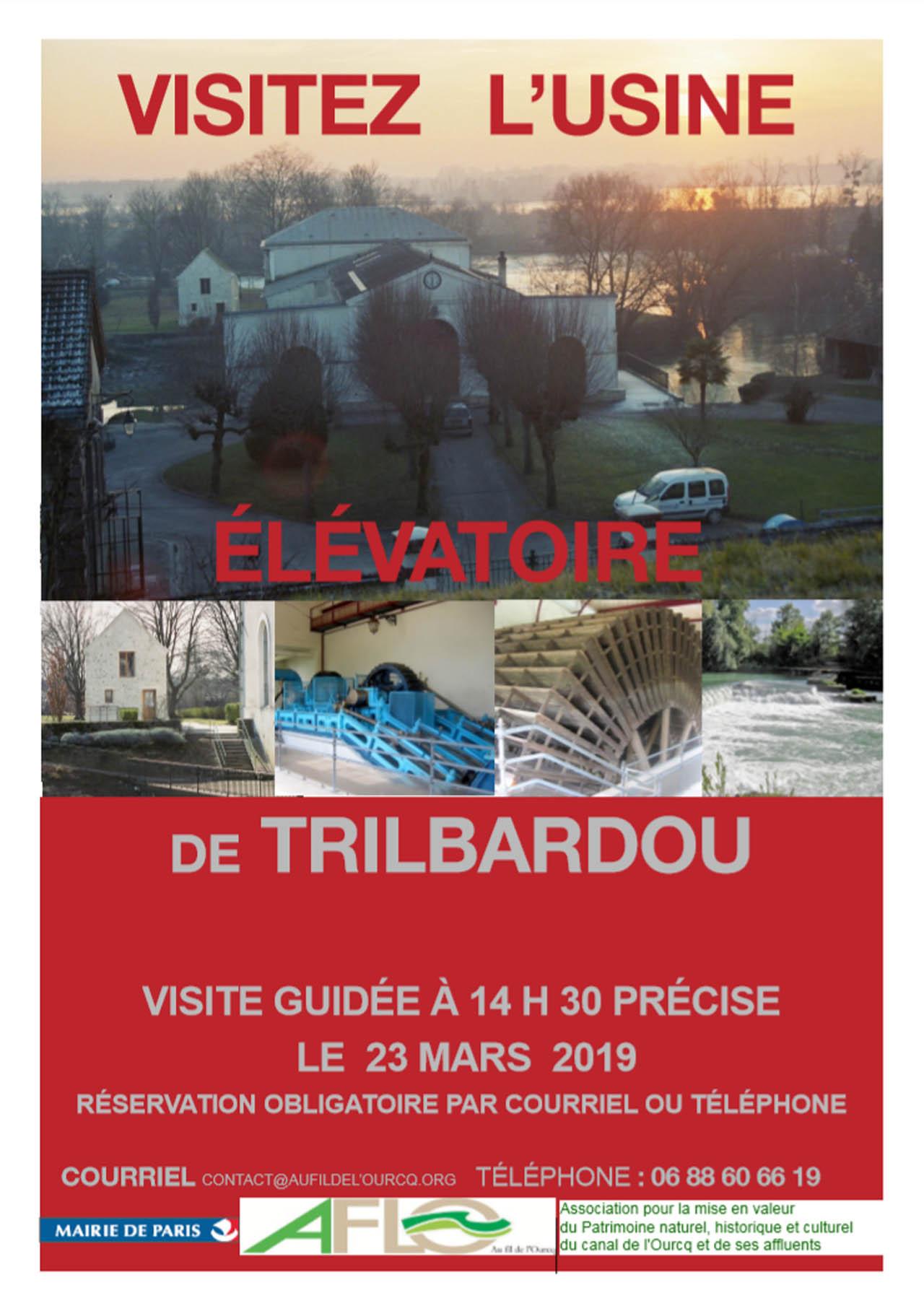 Visite de l'Usine Elevatrice de TRILBARDOU 23 mars 2019 Trilba10
