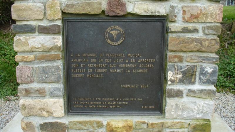 Monument WW2 - Bolleville ( Manche - Normandie )   P1090612