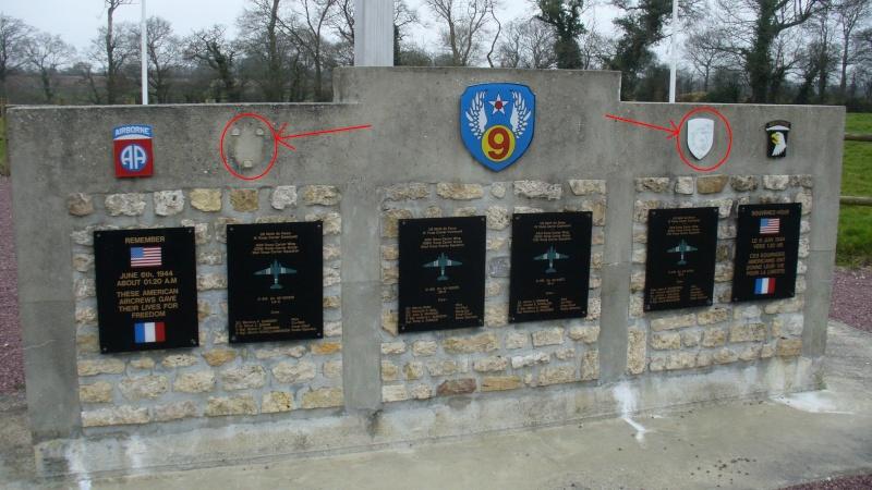 Monument WW2 - Picauville ( Normandie ) Xx10
