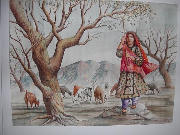 Paintings of Baloch People 25979_10
