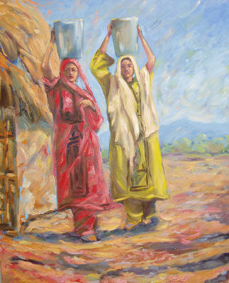 Paintings of Baloch People A10