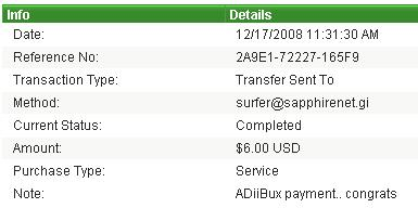 payment proofs i made to members Proof_10