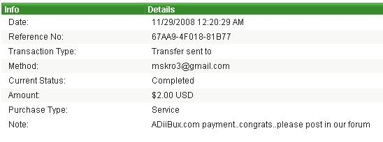 payment proofs i made to members Proof_11