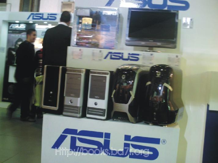 تغطية شاملة بالصور لمعرض شام 2008 Asus10