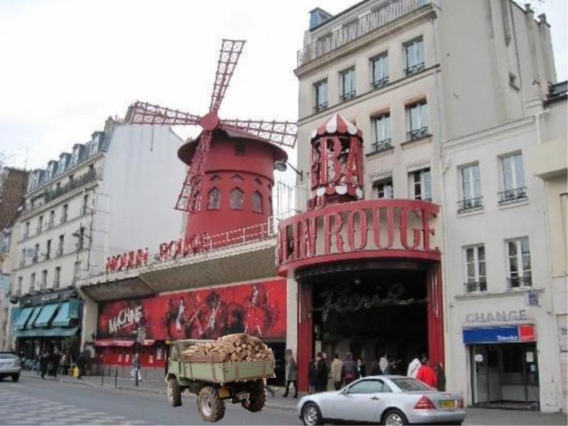 PV de stationnement gênant sur trottoir à Paris avec 411 411_pi11