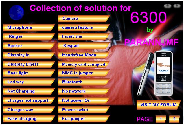 Hardware Repair Solution For 6300 630010