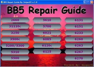 BB5 Repaired Guide Bb510