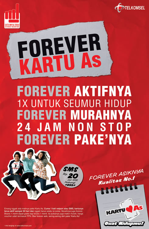 Kartu AS Forever Foreve10