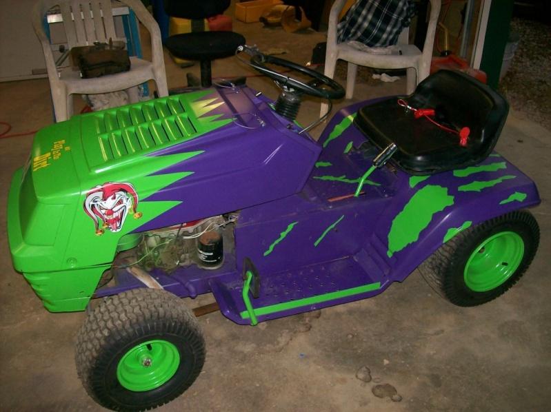 Mower type ?? Green210