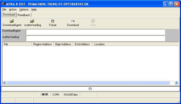 China Flash Tool 6.8 B24