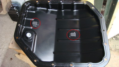Замена фильтра и ATF в АКПП U-341E часть 1 2210