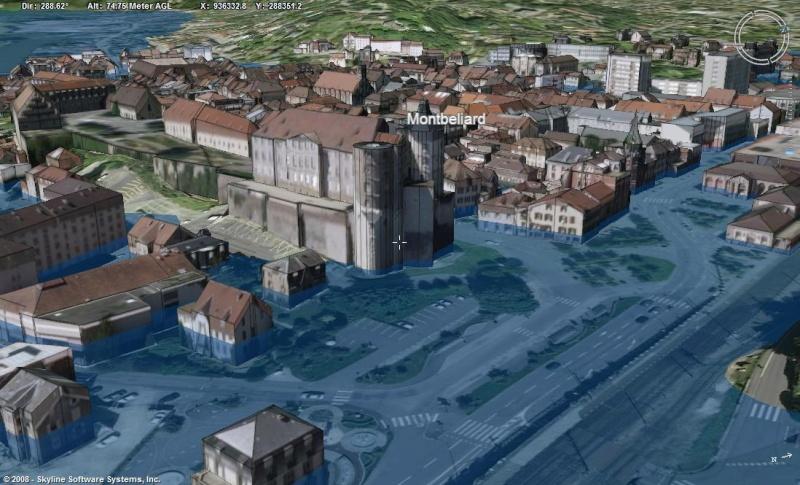 Montbeliard, 1ere ville française entiérement en 3D Innond10