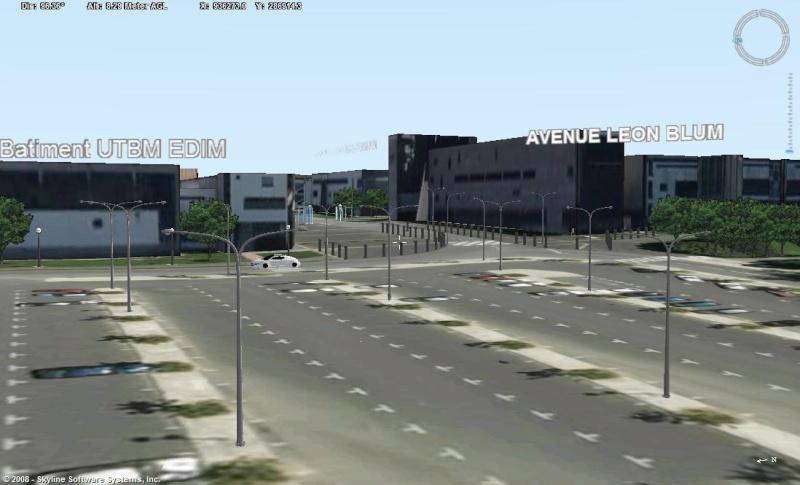 Montbeliard, 1ere ville française entiérement en 3D Numeri10