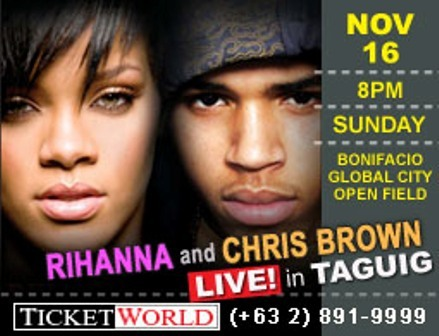 Rihanna and Chris Brown Live in Taguig Riricb13