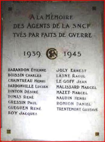 MONTARGIS - à la mémoire des agents S.N.C.F. Montar10