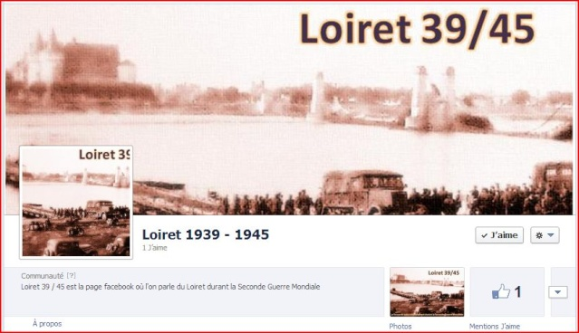 Création de la page facebook Loiret 39 / 45 Page_f11