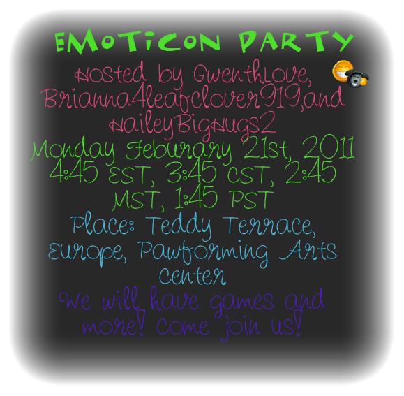 Emoticon Party! Emotic10