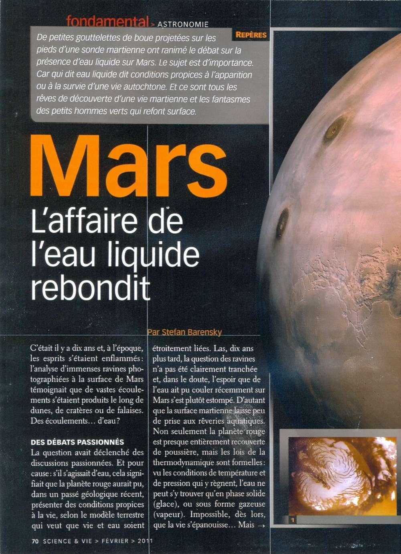 Mars 500 : six voyageurs immobiles vers la Planète rouge Marssv13