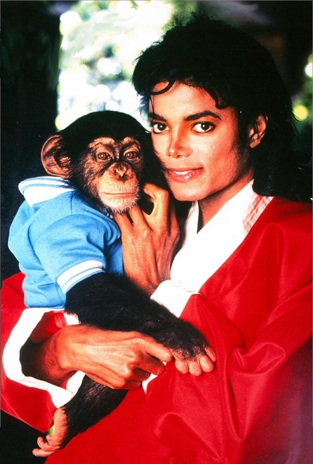 Collection MJ-Story : Michael et les animaux ^^ 1989_m11